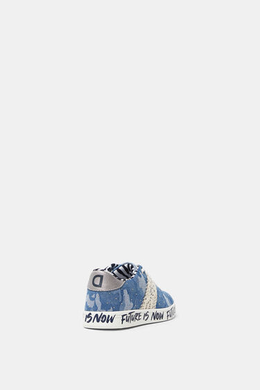 Denim sneakers met camouflageprint | Desigual