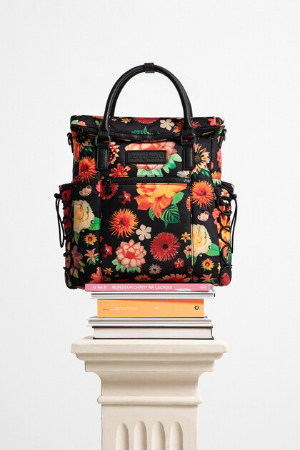 Medium flowery backpack