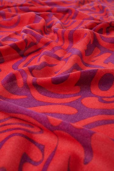 Big foulard psychedelia | Desigual