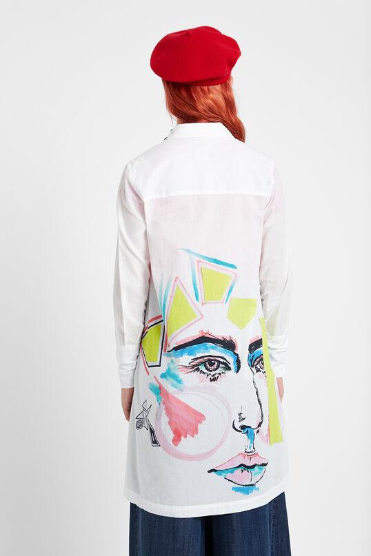 Arty shirt buttons | Desigual