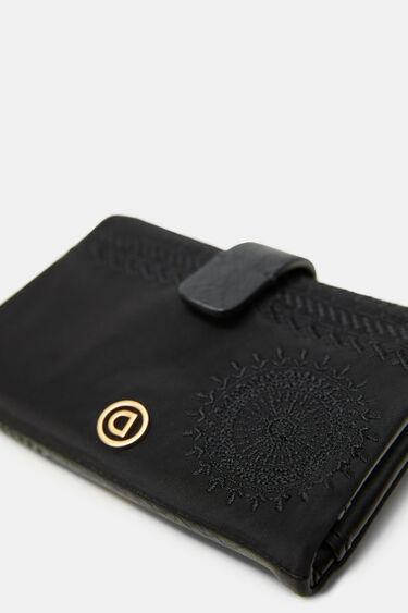 Mittelgroßes Portemonnaie Reißverschluss | Desigual