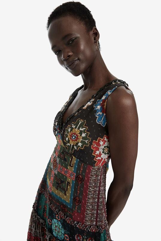 Long Ethnic Print Dress Nicole | Desigual