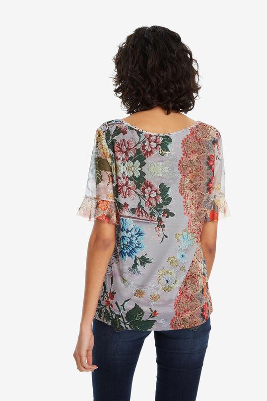 V-neck T-shirt Laura | Desigual