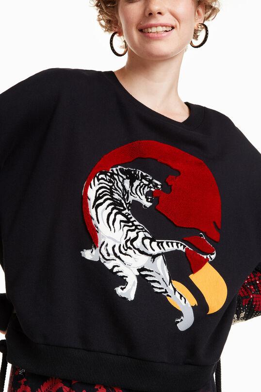 Dessuadora Tiger Flash | Desigual