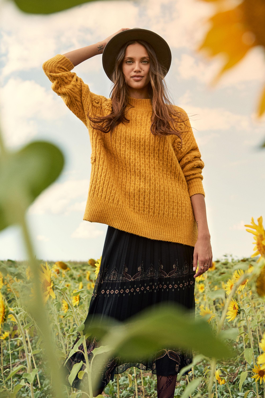 Maglia in tricot intrecciata | Desigual