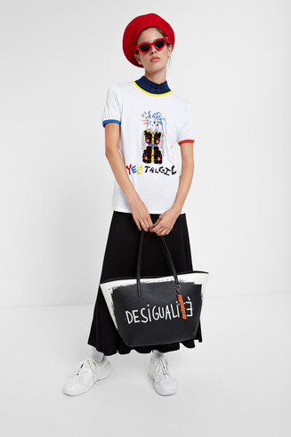 Young talents  Yestalgic Illustration T-shirt