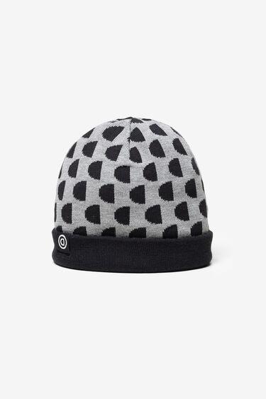 Dwustronna czapka z monogramem | Desigual