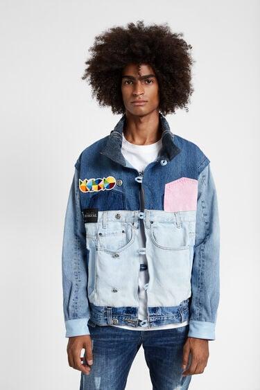 Iconic jacket calavera Okuda | Desigual