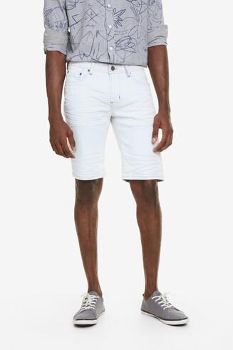 Faded Denim Bermuda Shorts Pablo
