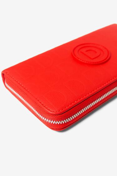 Rode portemonnee met logomania | Desigual