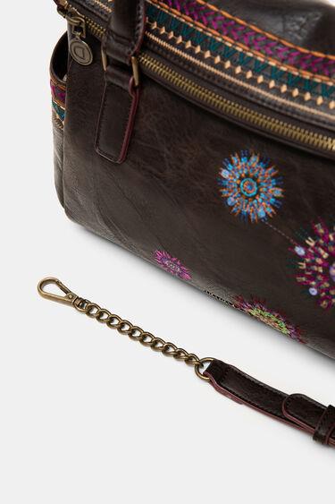 Embroidered briefcase bag | Desigual