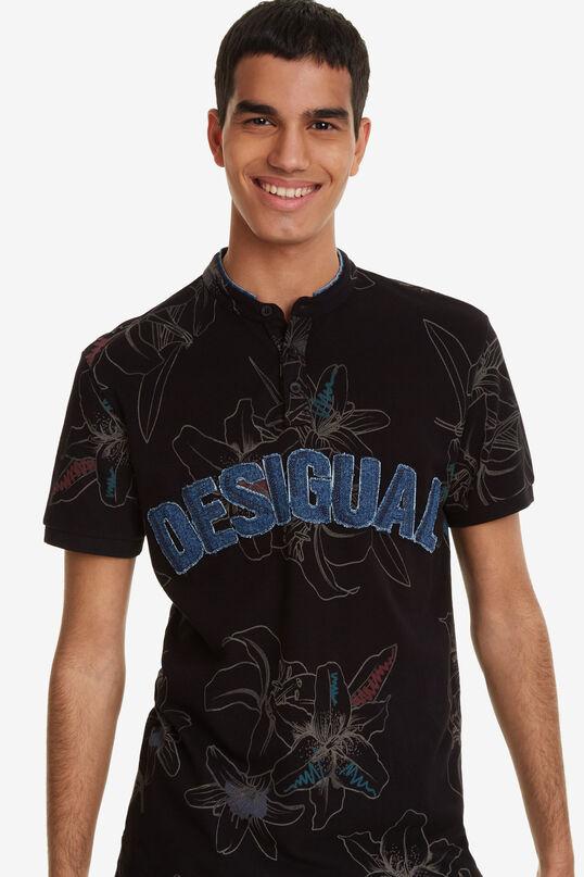 Tropical flower polo shirt Alban | Desigual