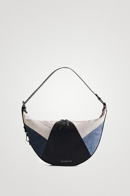 Bolso shoulder bag media luna