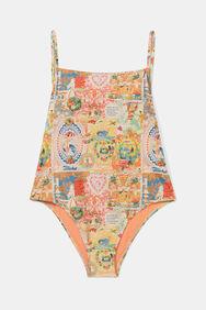 Swimsuit back Lurex straps | Desigual