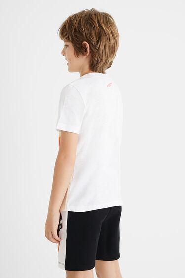 T-shirt skate 100% coton | Desigual