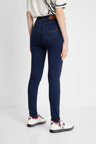 2nd skin denim trousers | Desigual