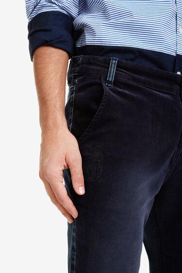 Pantalon  coupe jean bi-matière   Desigual