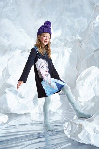 Robe t-shirt '' Frozen ''