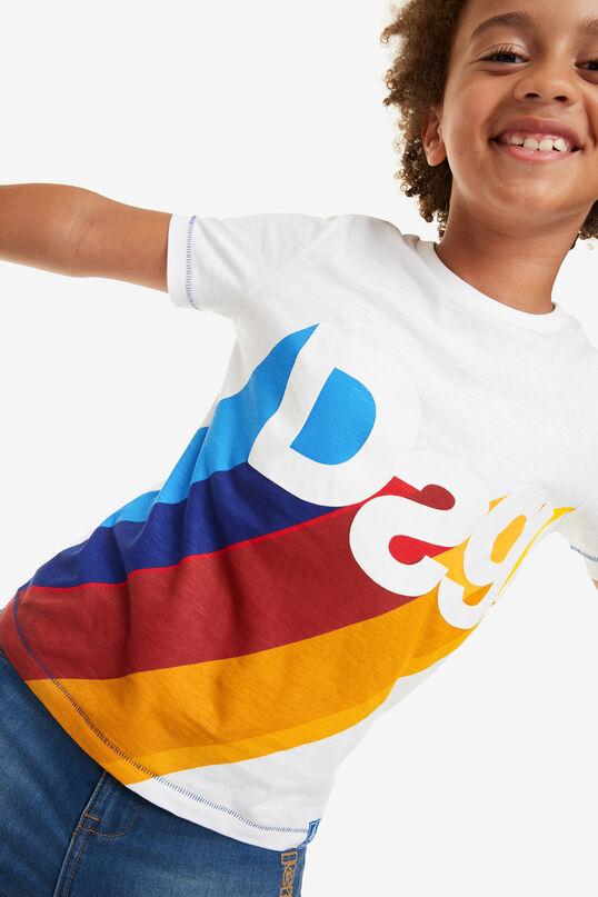 Samarreta logo consonants David | Desigual