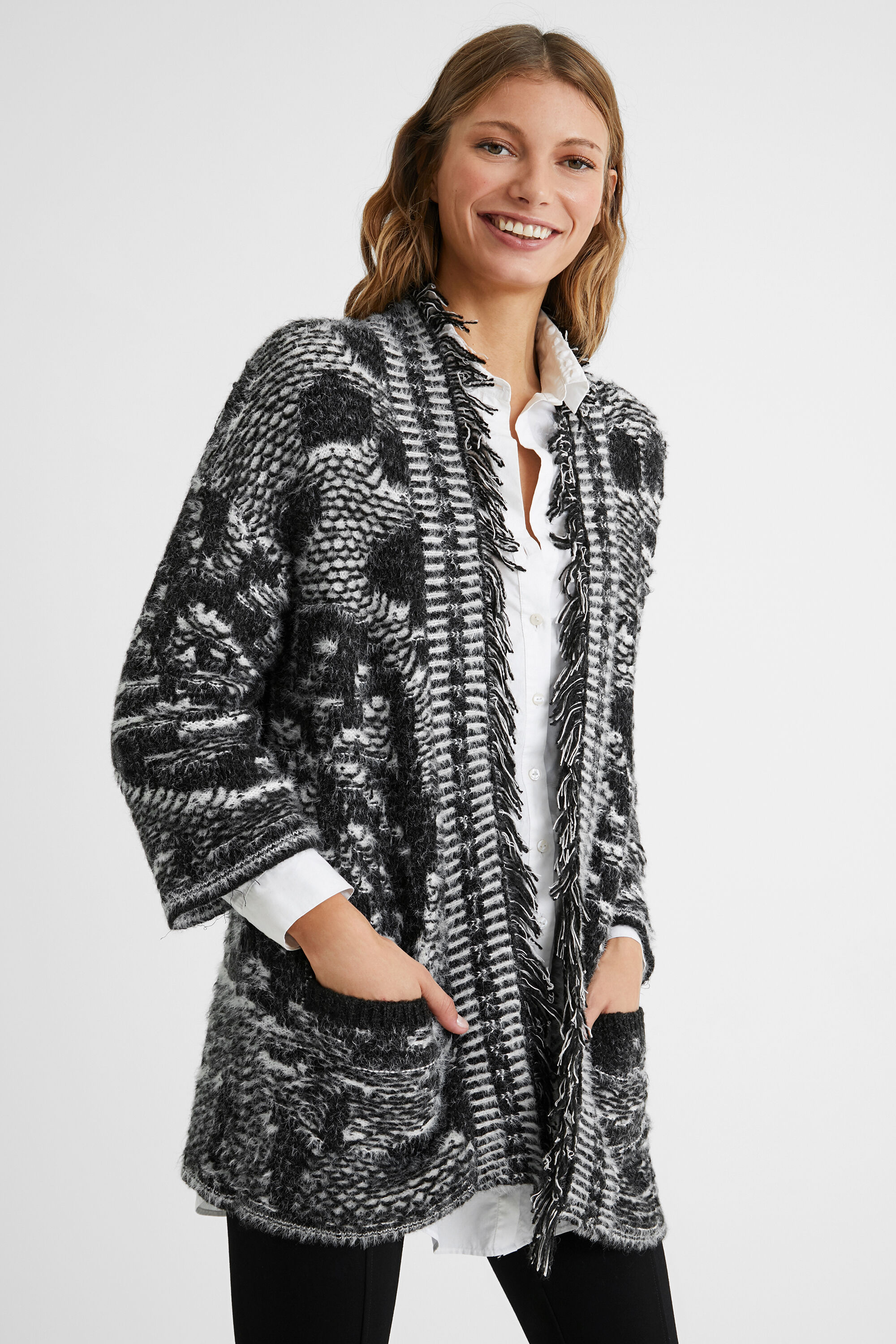 Giacca oversize tricot | Desigual