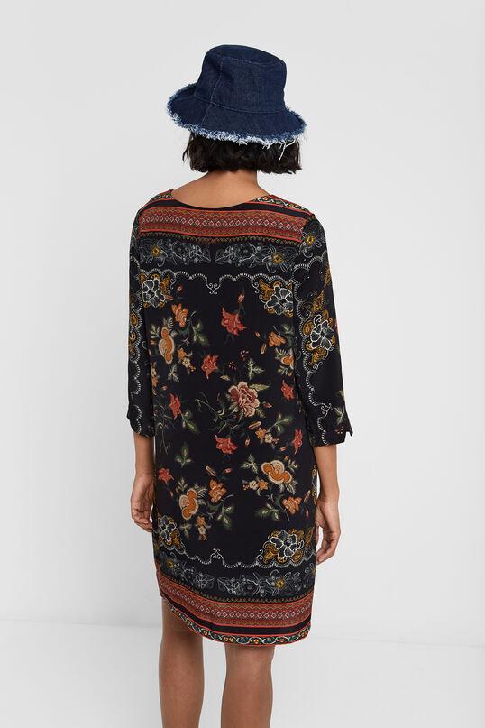 Rechte jurk met bloemen | Desigual