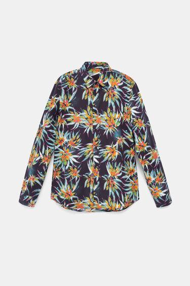 Shirt met tropische bloemenprint | Desigual