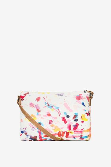 White Confeti Dhurban Bag | Desigual