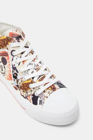 Halfhoge sneakers met Mickey Mouse | Desigual