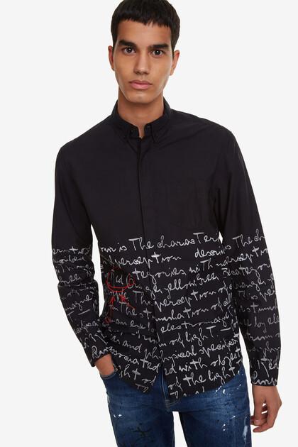Handwriting Shirt Jude