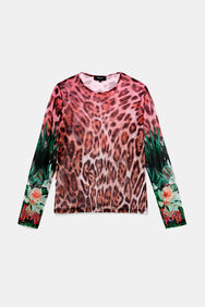 Shirt mit Leo-Print | Desigual