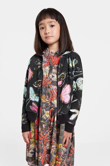 Reversible sweatshirt jacket | Desigual