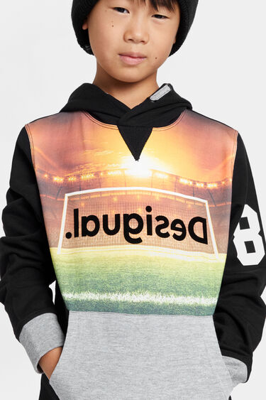 Sweat-shirt capuche football | Desigual