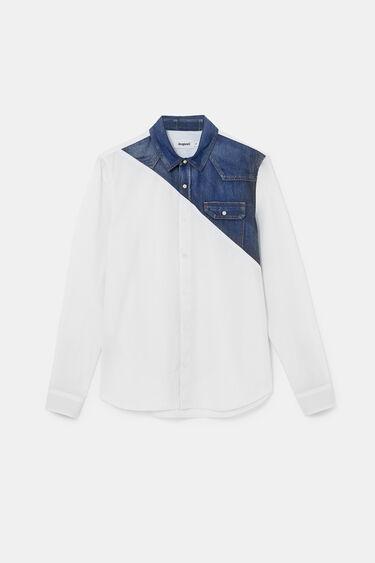 Poplin shirt denim reserve | Desigual