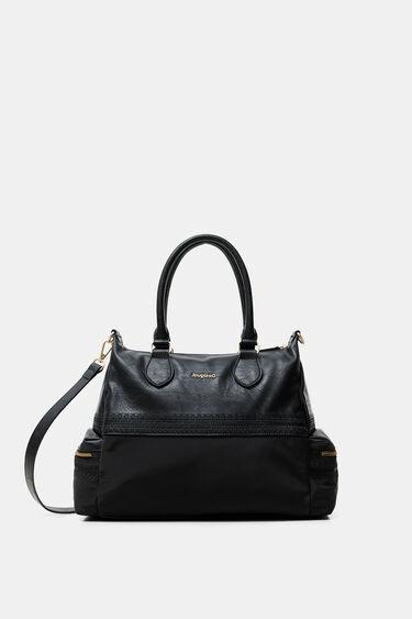 Embossed outer pocket bag | Desigual