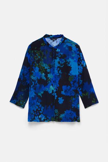 Koszula z kwiatowym nadrukiem moro | Desigual