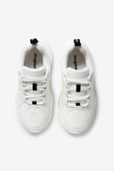 Sneakers chunky blanques | Desigual