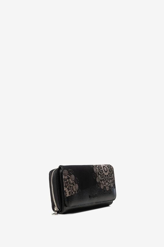 Metallic motifs coin purse | Desigual