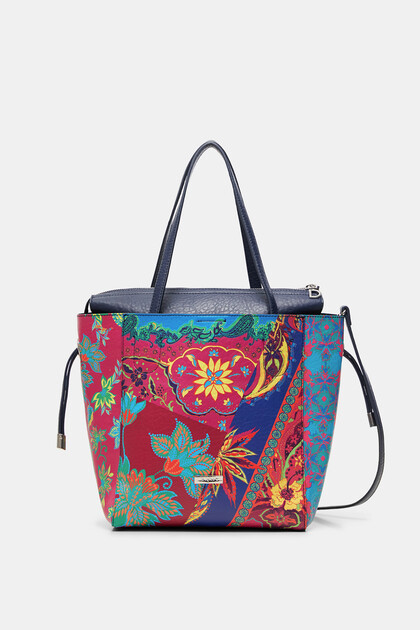 2 in 1 boho shopping bag