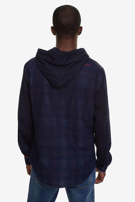 Chemise en denim à capuche | Desigual