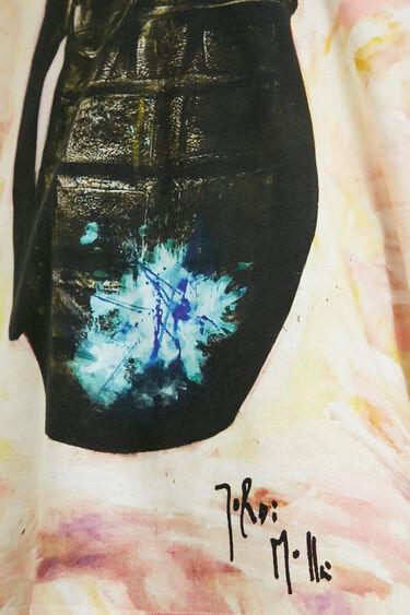 T-shirt algodão ilustração | Desigual