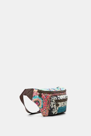 Patch print bum bag | Desigual