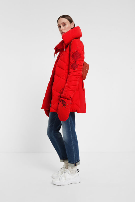 Padded jacket gloves | Desigual