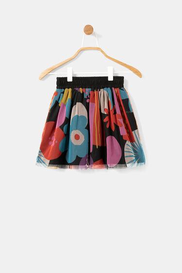 Tulle print skirt | Desigual