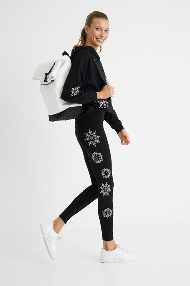Leggings Swiss embroidery | Desigual
