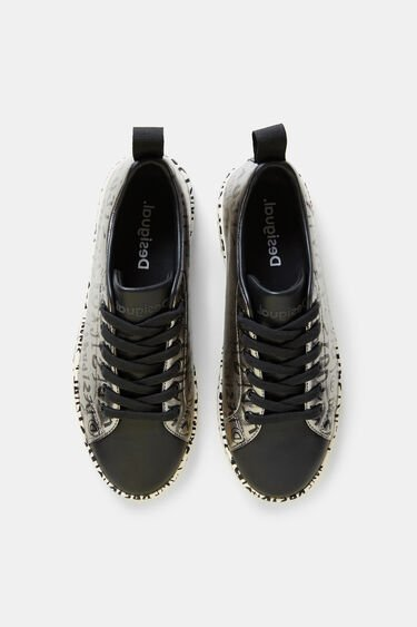 Low silver sneakers | Desigual