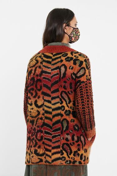 Boho knit jacket | Desigual
