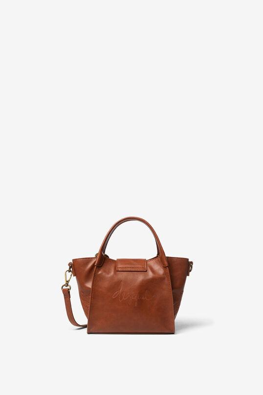 Mini synthetic leather bag | Desigual