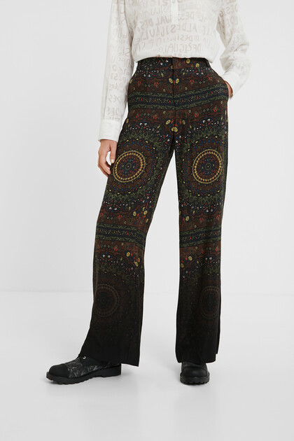 Hindu bell bottom trousers