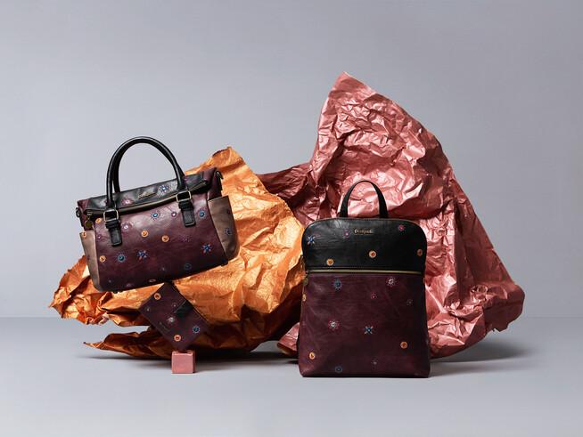 Bag, backpack and wallet set