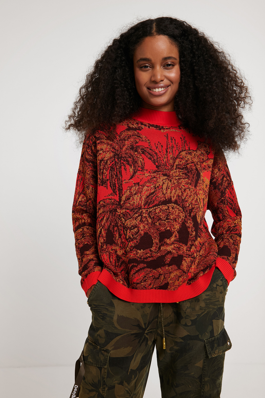 Maglia in tricot oversize | Desigual